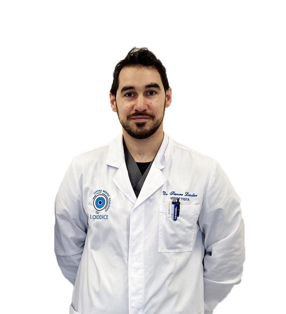 dottor simone loiodice ortottista contattologo posturologo corato bari centro medico oculistico loiodice