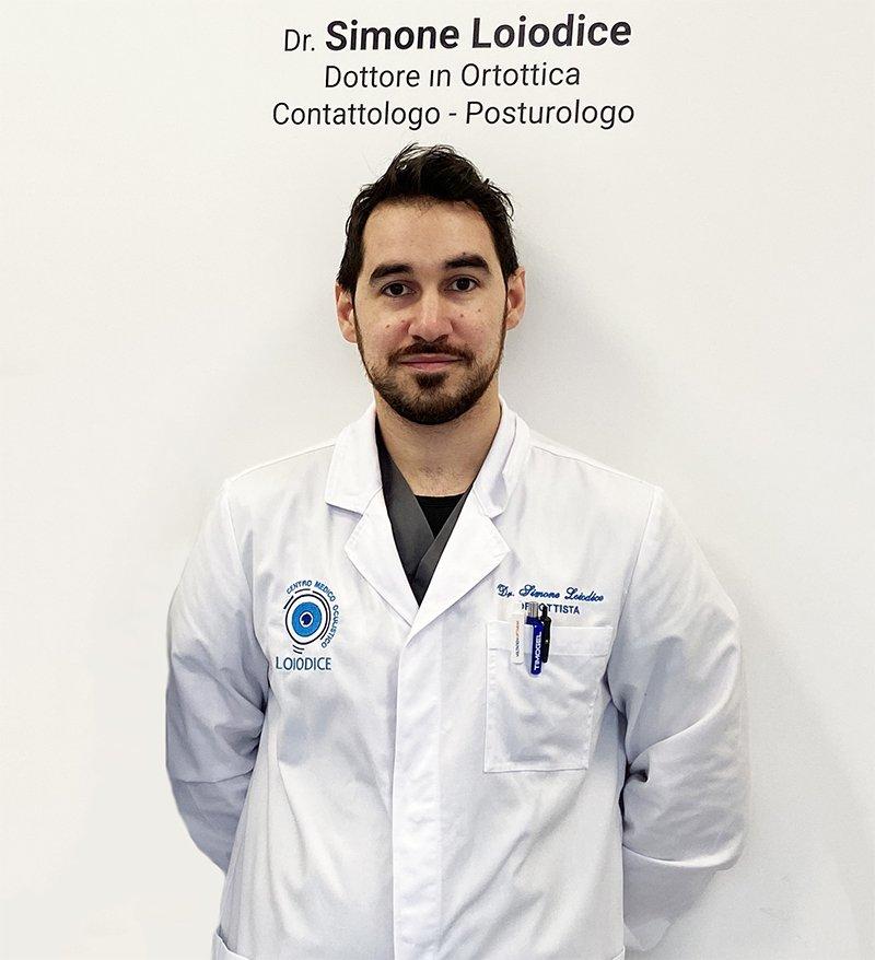 dottor simone loiodice ortottista contattologo posturologo corato